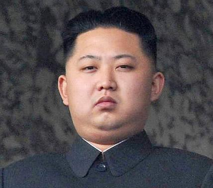kim yong, el dictador comunista de Corea.