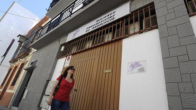 Sede de la Federación andaluza de Mujeres Progresistas, ya cerrada, en la calle Santa Clara de Sevilla
