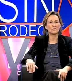 Isabel Durán, muy próxima al PP, una de las periodistas de 13TV