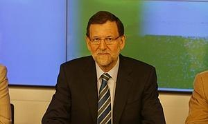 Mariano Rajoy, ayer en el comité.
