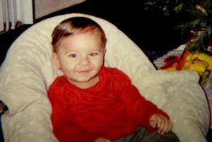 La madre del bebé, Sherry West, proporcionó la fotografía del menor.