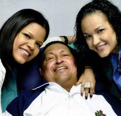 Hugo Chávez, la pasada semana.