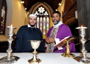 iman y reverendo en la iglesia Abeerdin
