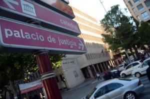 Palacio de Justicia de Albacete, donde el ecuatoriano pasará a disposición judicial.