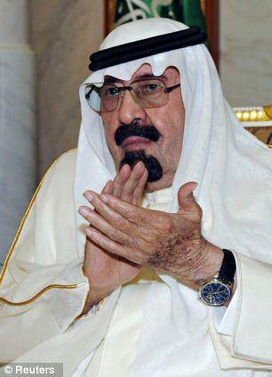 El rey Abdullah.