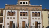 Fachada del Ayuntamiento de Santa Fe.