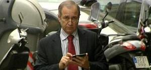 Martín Rodríguez-Sol, a su salida, este martes, de la fiscalía de Barcelona.