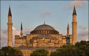 La mezquita Santa Sofía de Estambul