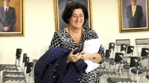 Antonia Muñoz, alcaldesa de Manilva, en diciembre pasado
