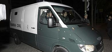 El furgón policial con Blesa se dirige a Soto del Real.