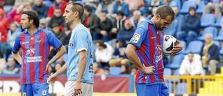 El rostro de Barkero antes de lanzar el penalti que fallaría contra el Celta habla por sí solo de la tensión.