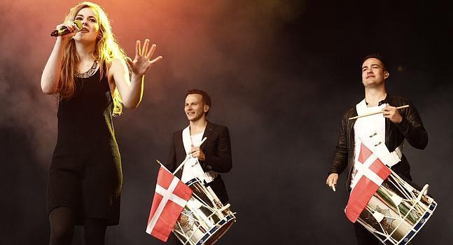 Emillie de Forest, ganadora de la última edición de Eurovision.