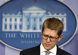 Jay Carney, portavoz de la Casa Blanca.