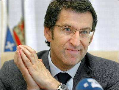 Alberto Núñez Feijoo, presidente de Galicia (PP).