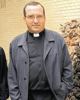 El rector del Seminario Mater Dei de Castellón, Miguel Abril.