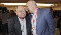 Pastrana y Carbonero, el pasado jueves en el congreso de UGT-A en Sevilla