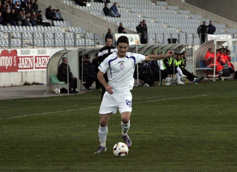 Un jugador del Real Jaén.