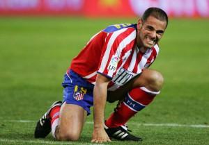 Salva Ballesta, durante su etapa en el Atlético de Madrid
