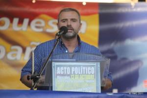 Eduardo Arias, lider de Nudo Patriótico