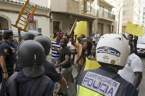 Los incidentes protagonizados por susaharianos son cada vez más frecuentes en Baleares.