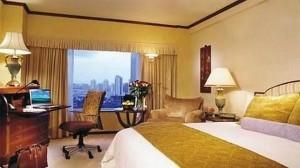 Los matrimonios Guerrero Otero y Lanzas Sierra se alojaron durante su estancia en Shangai en este exclusivo hotel