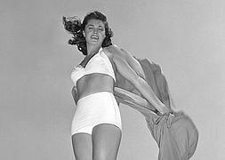 Esther Williams se labró una carrera en Hollywood gracias a su talento deportivo.