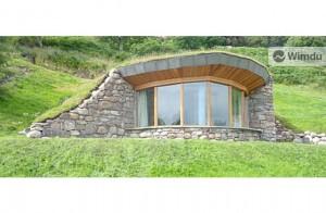 Casa Hobbit en el Reino Unido