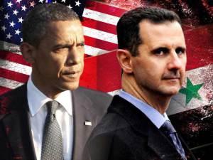Barack Obama y Bashar Assad, presidentes de EEUU y Siria