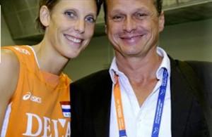 Ingrid Visser y su pareja sentimental, Lodewijk Severein