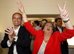 Rita Barberá, alcaldesa de Valencia, en primer término