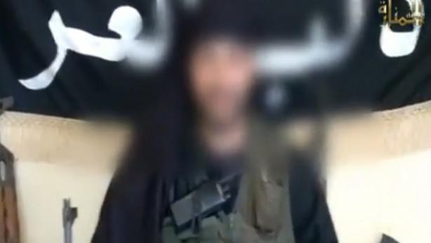 Imagen de Rachid Wahbi en el vídeo difundido por el Ministerio de Interior.