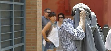 Domingo Enrique Castaño, tras su detención.