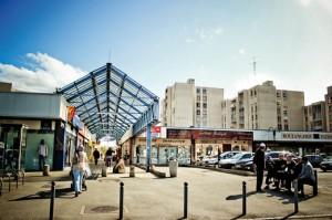 El centro comercial 'Italia' en Rennes