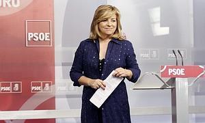 La vicesecretaria general del PSOE, Elena Valenciano.