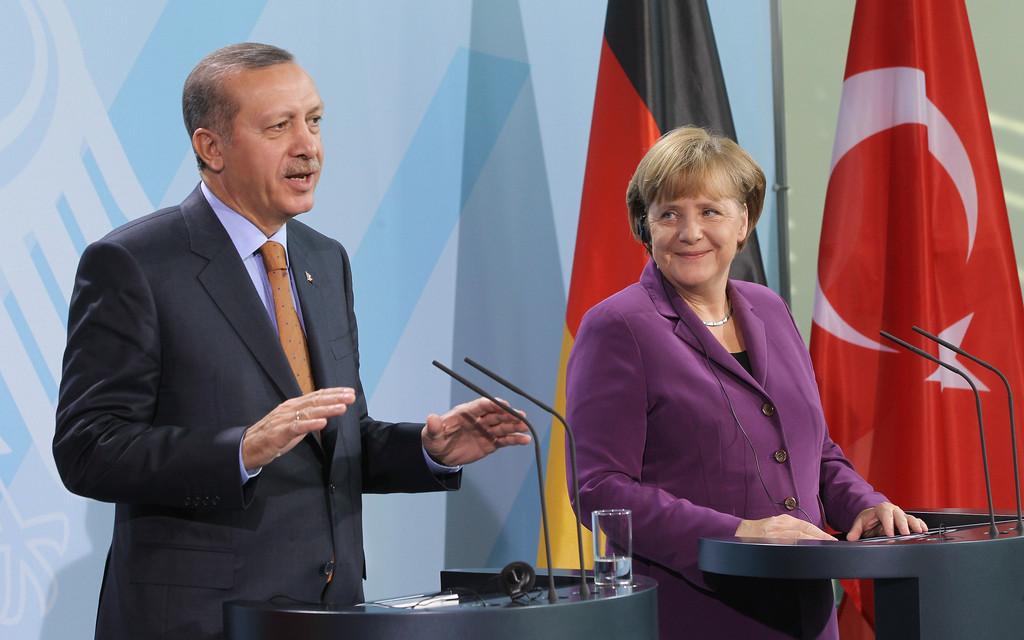 Erdogan y Merkel