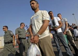 Terroristas palestinos liberados por Israel