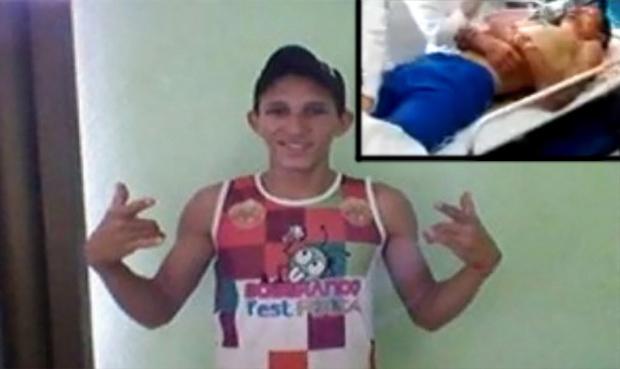 Imagen del árbitro brasileño que fue descuatizado.