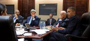 Obama, Kerry, Biden y Holder debaten sobre Siria.