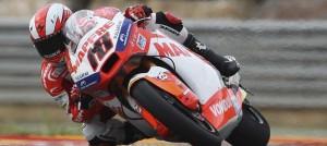 El piloto español de Moto2, Nicolas Terol.