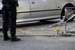 Imagen del BMV que colisionó con el vehículo de Cifuentes