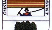 Escudo municipal de Canillas (Málaga) con Boabdil encadenado