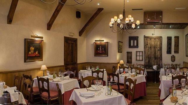 Interior de la taberna Gaztelupe de Madrid, donde cenaron 180 sindicalistas por 11.671 euros de la Junta