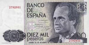 Billete de 10.000 pesetas