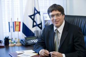 El embajador de Israel en España, Alon Bar