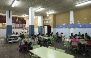 Comedor del colegio Santo Domingo