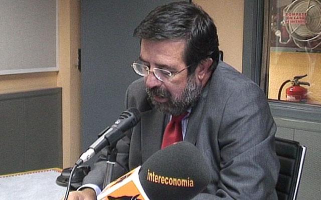 Enrique de Diego, durante su etapa en el grupo Intereconomía