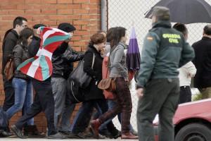 Inés del Río, a la salida de la cárcel