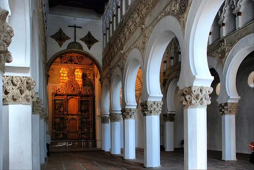 Iglesia Santa María la Blanca, antigua sinagoga Mayor de Toledo