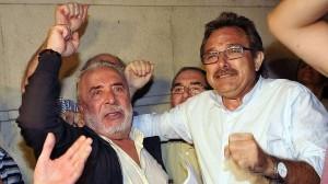 Salvador Mera y Roberto Carmona