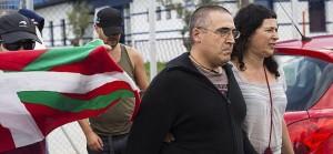 Juan Manuel Piriz abandona la prisión de Botafuegos.